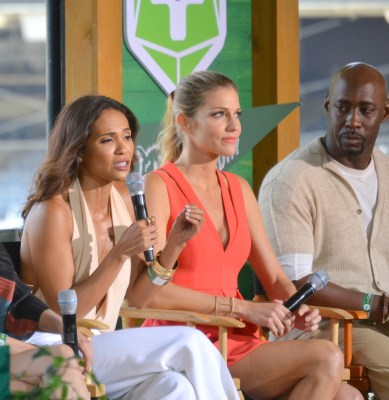 "Lesley-Ann Brandt, Tricia Helfer and D. B. Woodside talk ""Lucifer"""