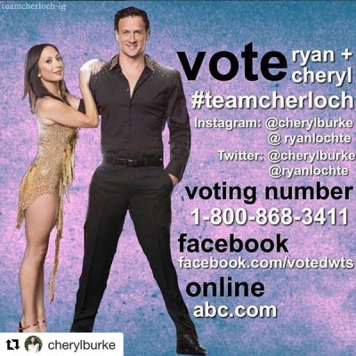 Ryan Lochte Cheryl Burke Dancing With The Stars