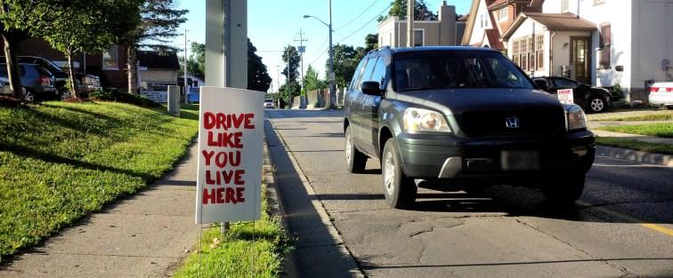Drive Like You Live Here