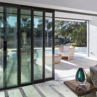 multi panel and multi slide patio doors are suitable for builders and remodelers
