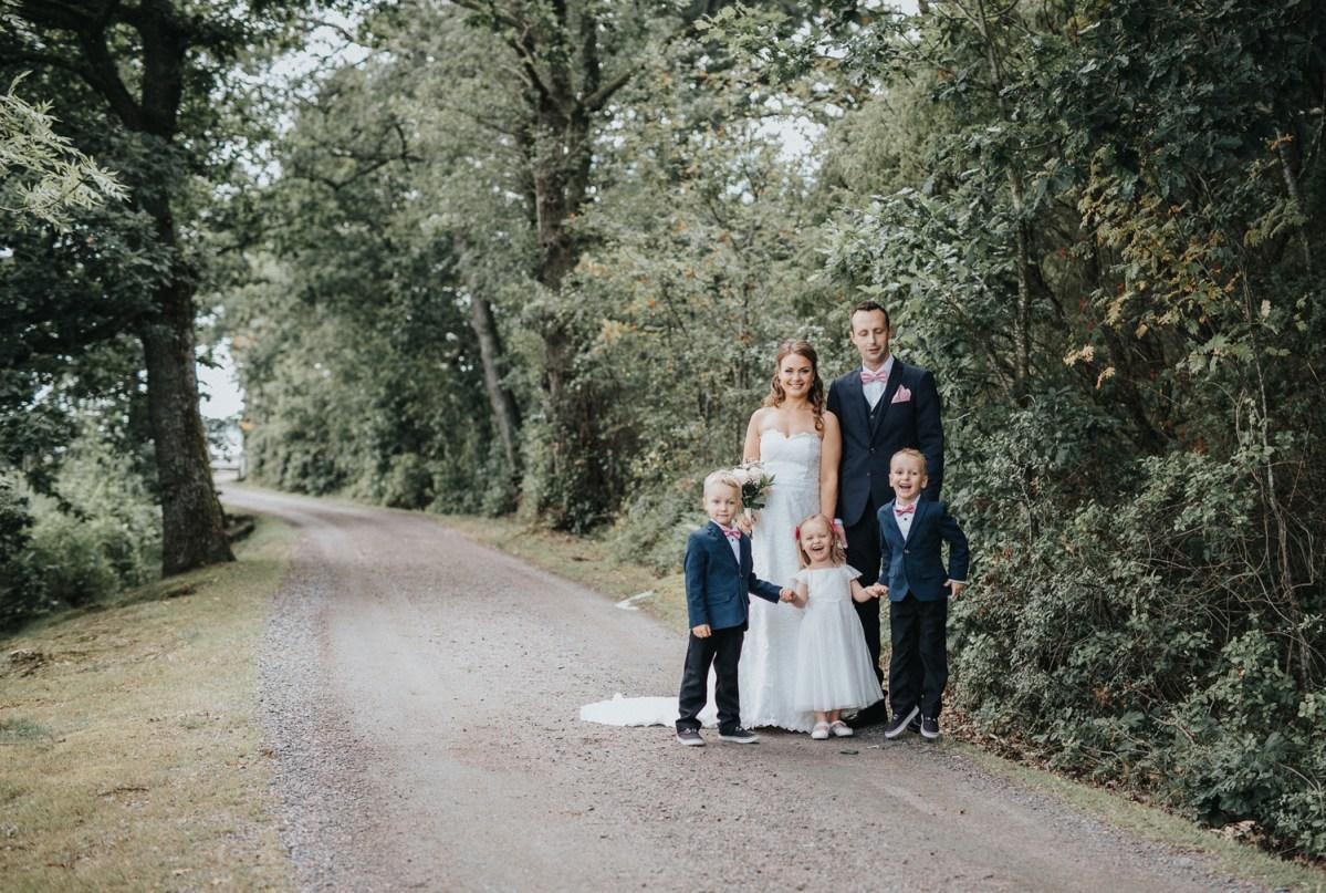 familjeporträtt bröllopsfotograf Cfoto cattis fletcher Tjolöholm Kungsbacka