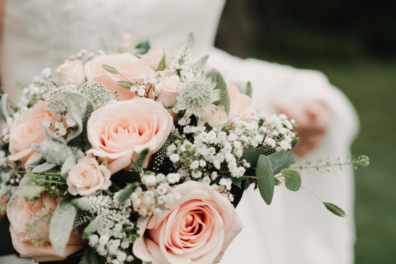 Bröllopsfotograf Käringön CFoto flowers Maria och Petter