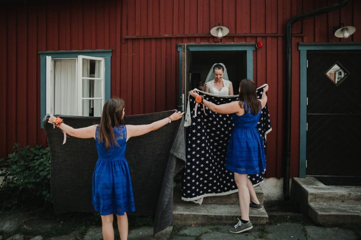 Bröllopsfotograf Onsala göteborg Niclas och Coralie