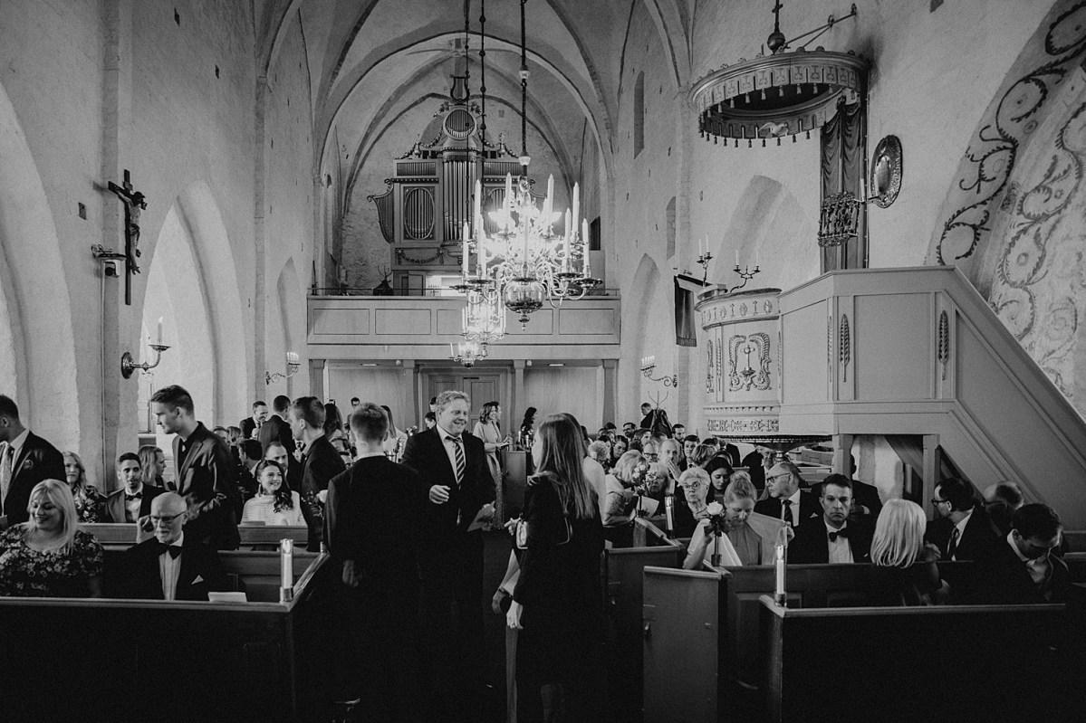 Mariakyrkan Båstad Bröllopsfotograf Skåne wedding photographer Sweden Ceremony