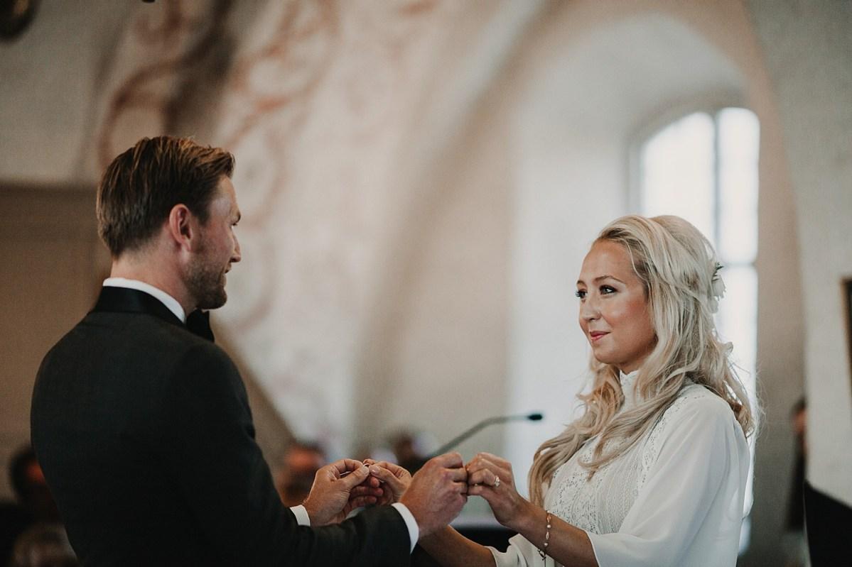 Brud och Brudgum Maria Kyrkan Båstad
