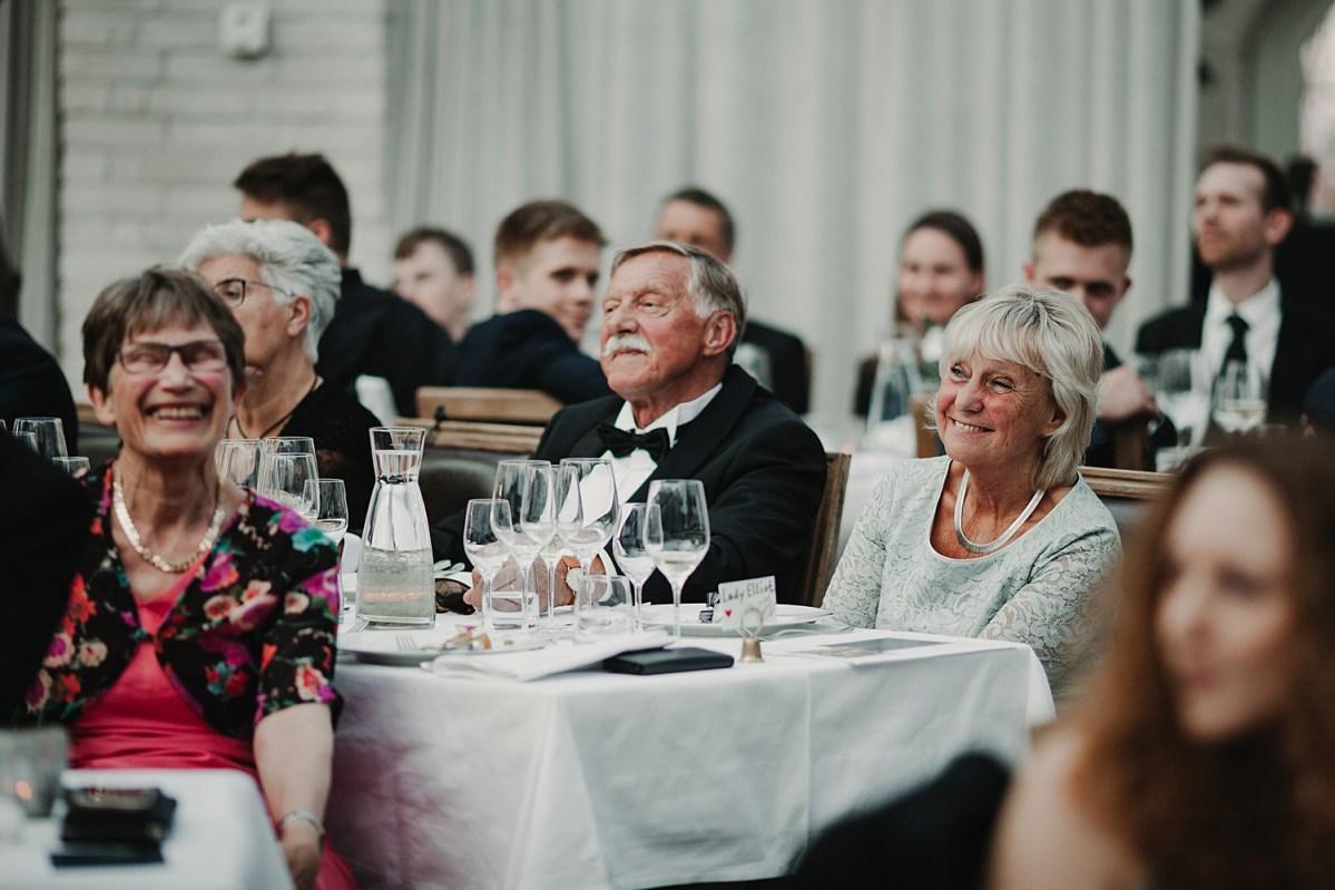 Brudens föräldrar tal Norrviken Bröllopsfotograf