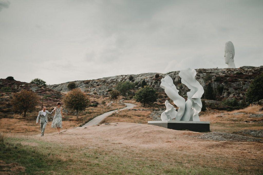 Bröllopsfotograf Tjörn Wedding photographer Sweden