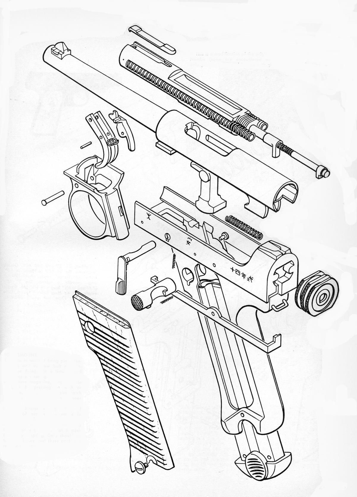 Pistolas Japonesas Nambu