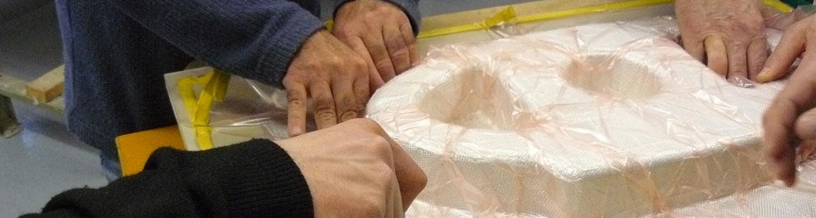 Mise en oeuvre de matériaux composites