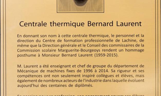 Inauguration de la centrale thermique Bernard-Laurent