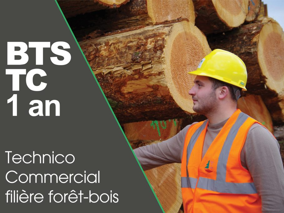 CFPPA formation adulte BTS TC forêt bois en 1 an