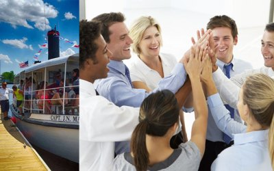 Make Corporate Team Building Fun with Cape Fear Riverboats