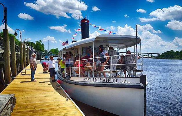 Captain J.N. Maffitt Sightseeing Cruise Boat