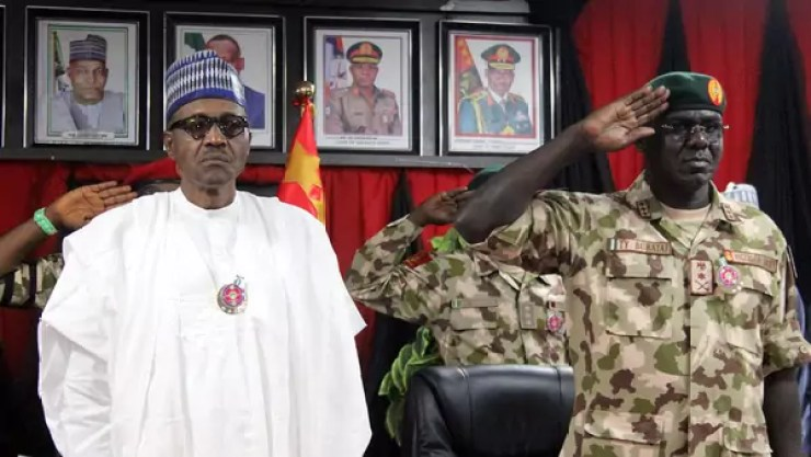 Image result for Buhari army