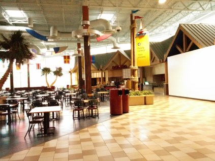The Regency Square food court is down to five surviving restaurants.