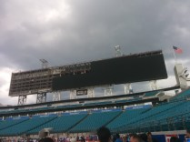 EverBank Field is installing huge - yes, HUGE - video boards. They'll be finished and unveiled to the public next month.