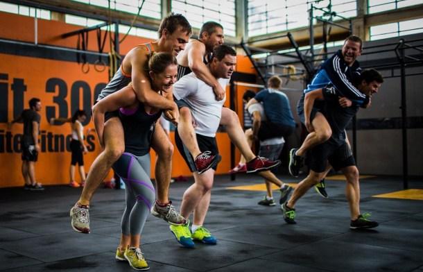 Wod CrossFit Sevilla CFS Compañeros Carrera