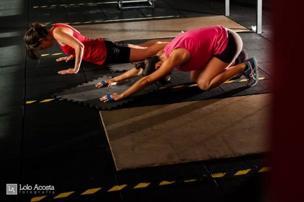 Wod CrossFit Sevilla Girls training