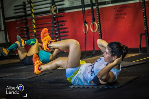 Wod CrosFit Sevilla Sit Up Girl