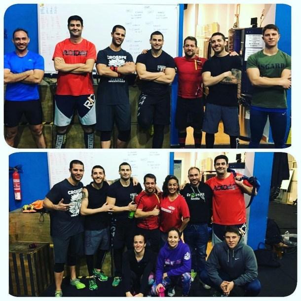 Wod CFS Box CrossFit Sevilla Leones 1