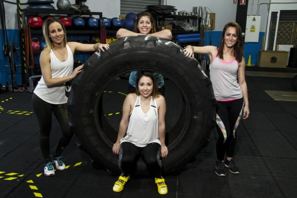 Wod CFS Box CrossFit Sevilla Girls Neumatico