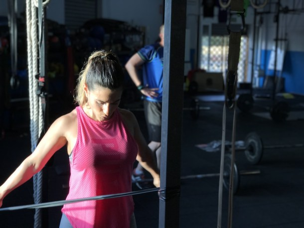 Wod CFS Box Sevilla CrossFit Training Girls Lions Halterofilia