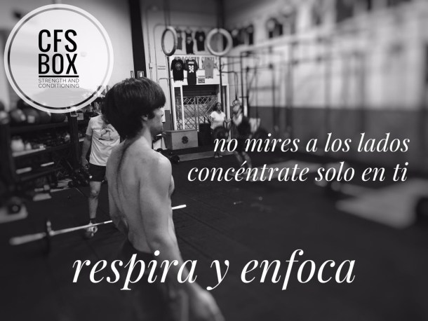 CFS Box Sevilla CrossFit Training respira enfoca