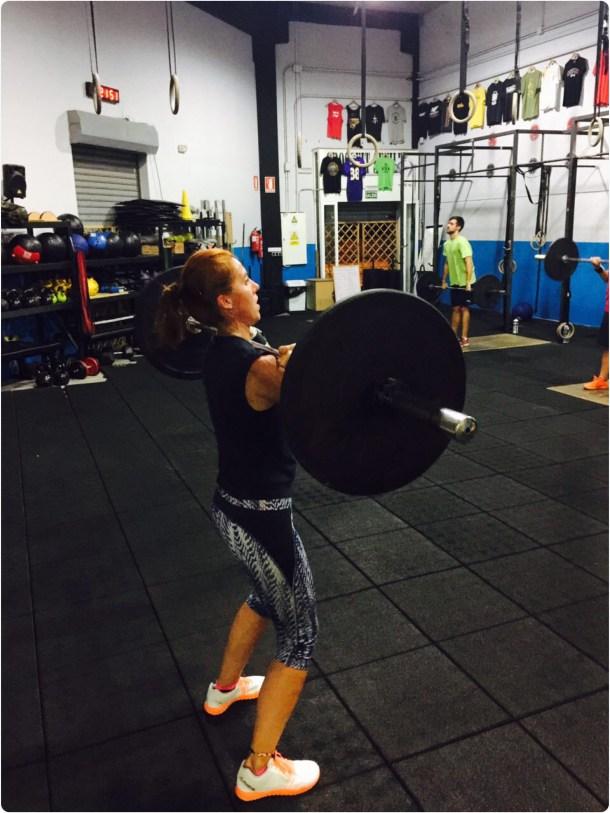 Wod CFS Box CrossFit Sevilla Leones training Halterofilia Girl