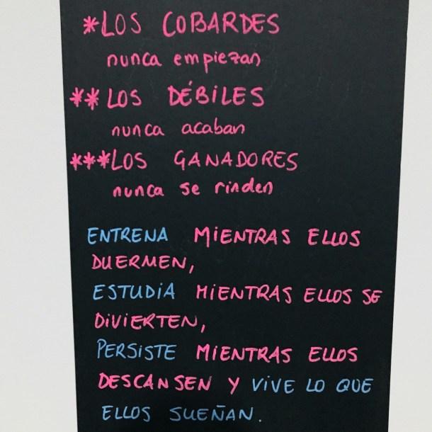 Wod CFS Box CrossFit Sevilla training leones Lema Dicho Frase Valhalla