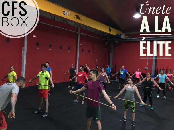 Wod CFS Box CrossFit Sevilla training unete elite