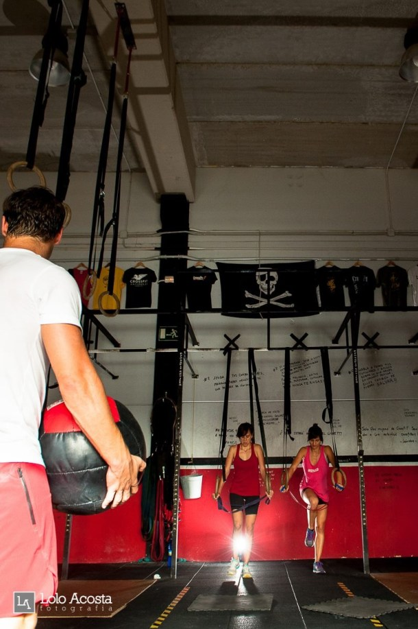 Wod CFS Box CrossFit Sevilla Leones training
