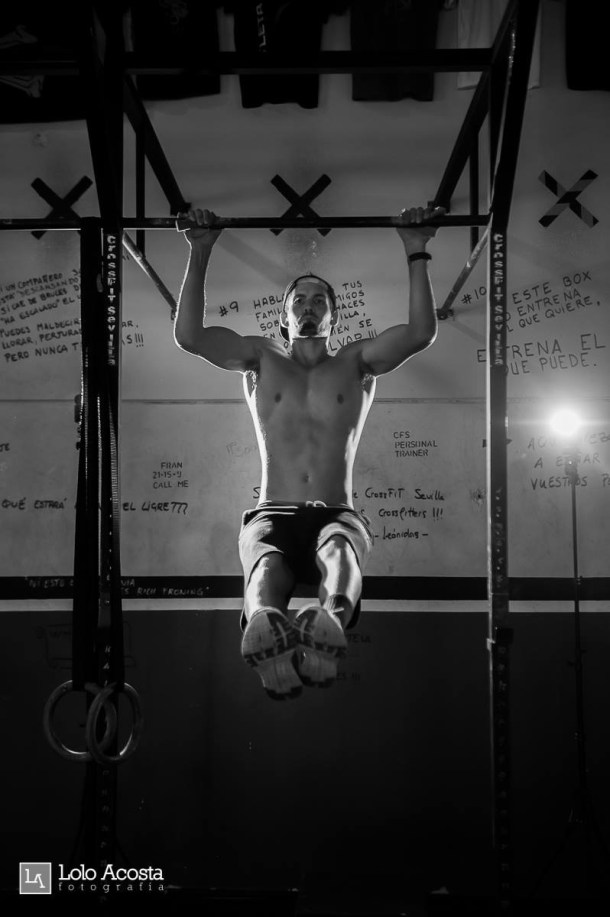 Wod CFS Box CrossFit Sevilla Leones training anillas