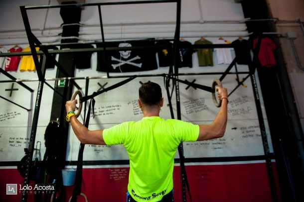 Wod x CrossFit Sevilla Leones training