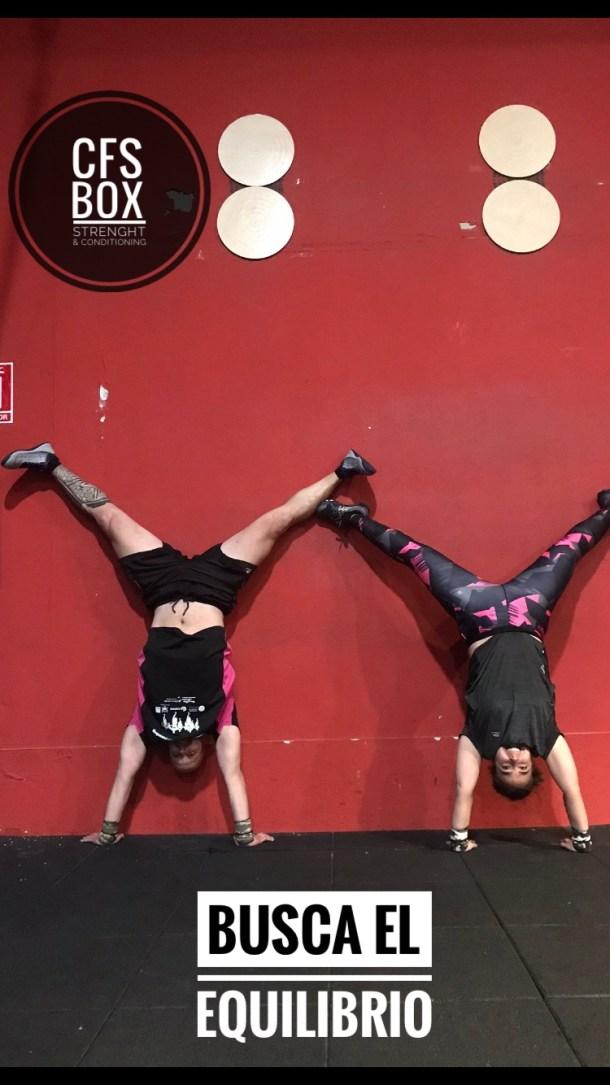 Wod CFS Box CrossFit Sevilla training leones