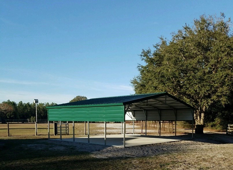 24x25 Carport Central Florida Steel Buildings And Supply