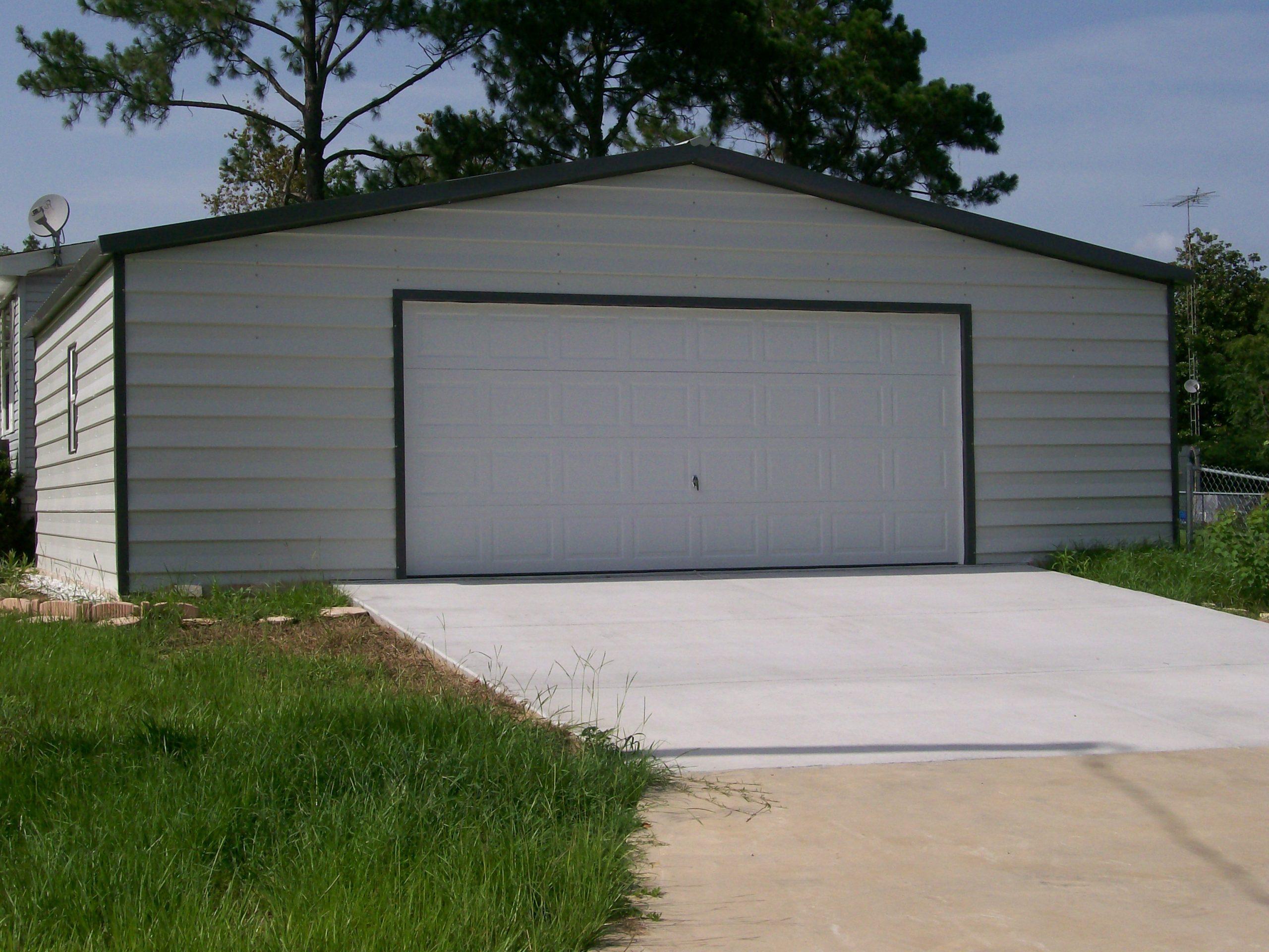 30x20 Custom Lap Siding Garage CF Steel Buildings And Supply