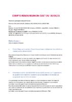 COMPTE RENDU CSSCT AVRIL 21