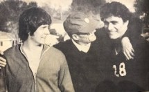1976 Chris Neesen, Coach Collinge, Mitch Willett