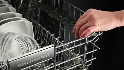 fold down shelf with stemware holders