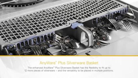 anyware plus silverware basket