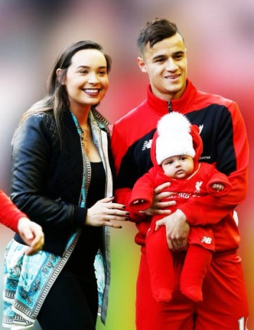Philippe Coutinho wife