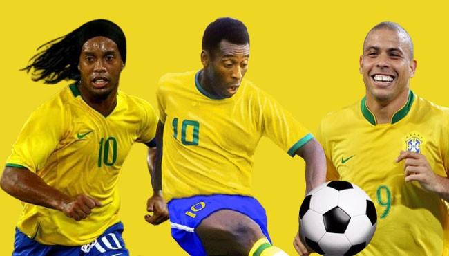Brazilian greatest footballer