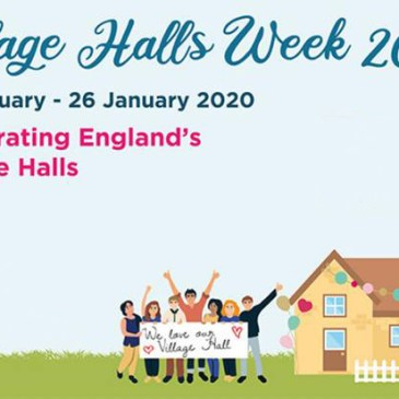 Celebrating Village Halls Week 2020