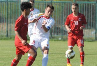 U16: Odigran drugi meč u Skoplju