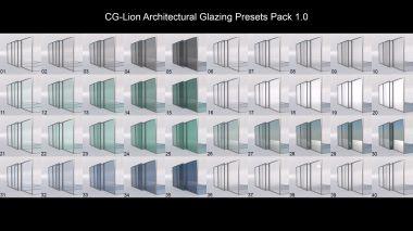 CG-Lion_Architechtural_Glazing_Presets_Pack_1.0_preview_A