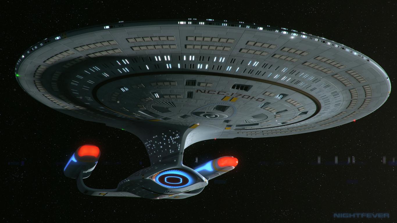 Uss Enterprise D By Nightfever Sci Fi 3d Cgsociety