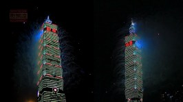 2013 101 跨年煙火 taiwan taipei 101 fireworks show (35)