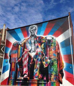Lincoln mural Lexington, Ky