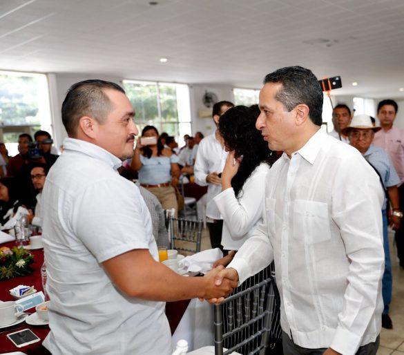 No puede haber democracia sin demócratas ni libre ejercicio de la democracia sin la plena libertad de expresión: Carlos Joaquín