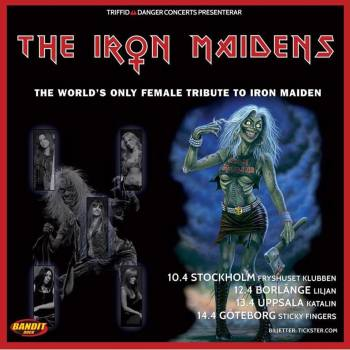 IRON MAIDENS in Stockholm (Concert Blog)